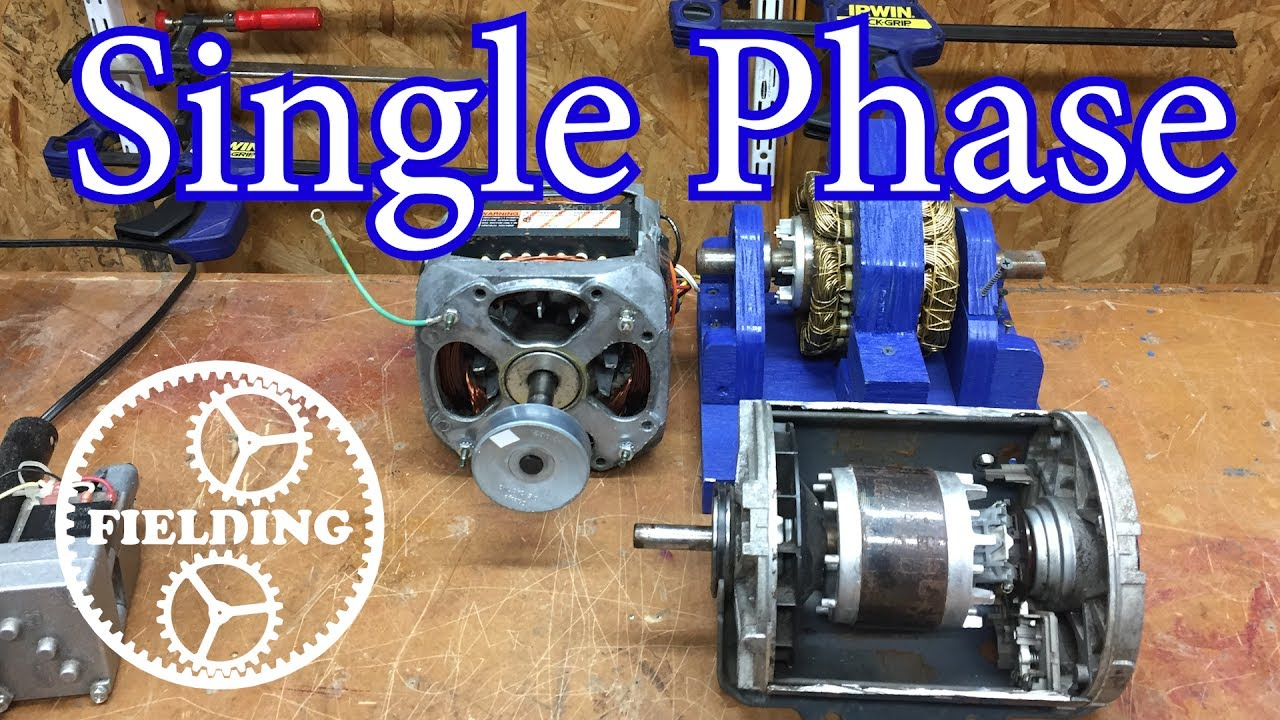 How Motors Work For Beginners: (Episode 4) Single Phase Induction and Shaded Pole Motors: 035