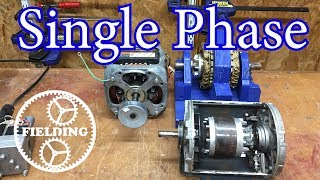 039. How Motors Work For Beginners: (ep 4) Single Phase Induction and Shaded Pole Motors