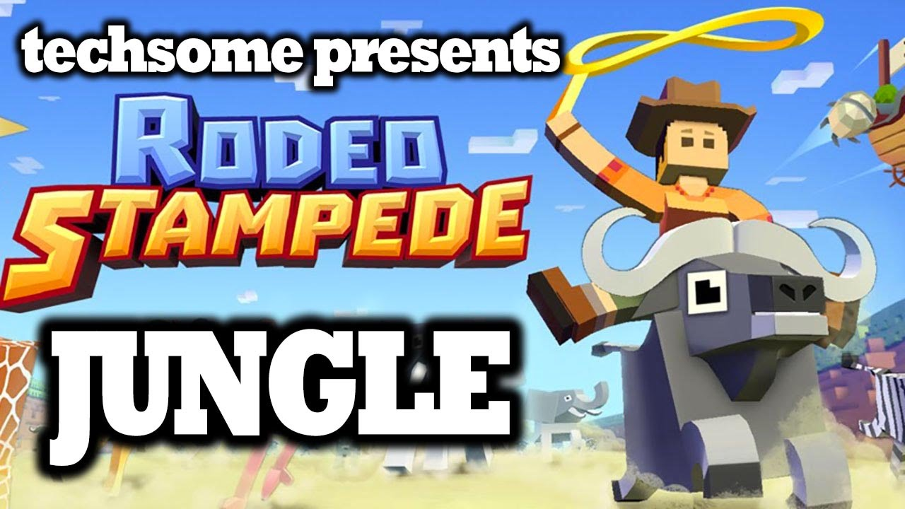 Rodeo Stampede Jungle New Animals Unlocked Youtube