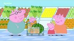 (бг аудио) Прасето Пепа - Епизод 49 - На пазар / Peppa Pig на български