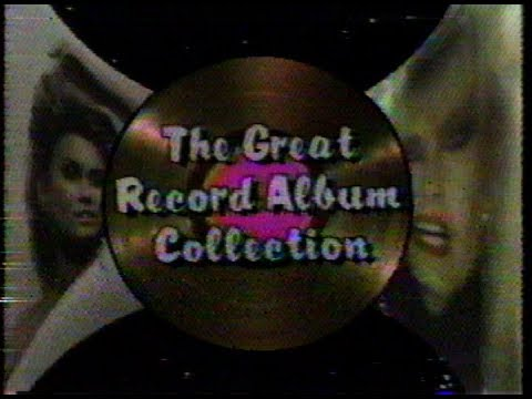 The Great Record Album Collection 1984 Show Intro RARE TV FOOTAGE music  videos