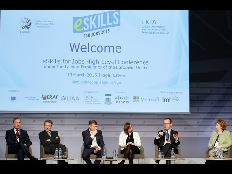 Opening of the e-Skills for Jobs 2015 campaign