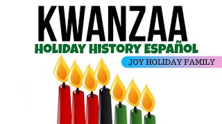 Kwanzaa - Holiday History Español