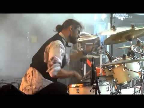 Fleshgod Apocalypse - Thru Our Scars Live Drum Playthrough