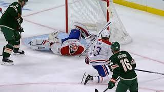 Keith Kinkaid Robs Zucker With A Incredible Save/canadiens Vs Wild/october 20 Nhl Season 2019