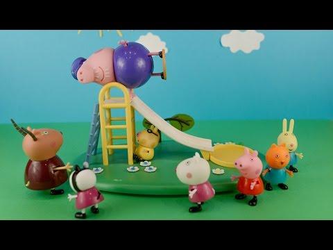 Видео свинка пеппа первый день в школе