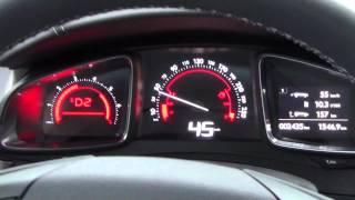 Citroen DS5 Acceleration 0-100
