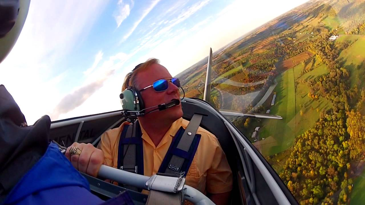 Flying Fast Above The Finger Lakes In An Rv8 Youtube