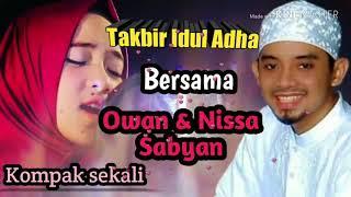 Takbir Idul Adha, bersama Nissa Sabyan Feat Owan