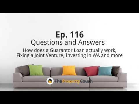 Ep. 116 | Q&A - How does Guarantor Loan actually works, Fixing a Joint Venture..