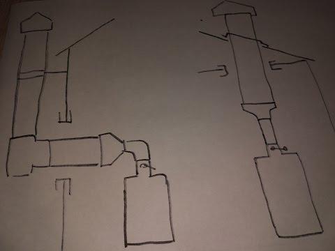 Как лучше ставить дымоход: по прямой, через крышу или на кронштейнах, по стене? Плюсы и минусы