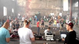 """Insane """"live"""" @ Alte Brauerei Dessau 09.07.2010 (Hard Sonic) Part 2"""