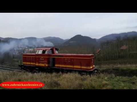 Video ze zkušební jízdy T444