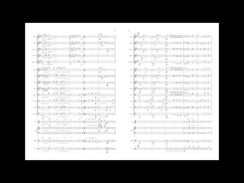 Pure Imagination arrangement for Big Band with Score
