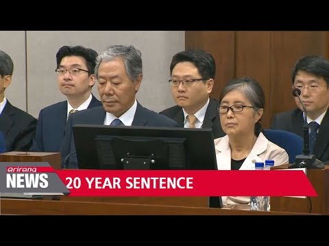Choi Soon-sil, aide to former leader Park, sentenced to 20 years