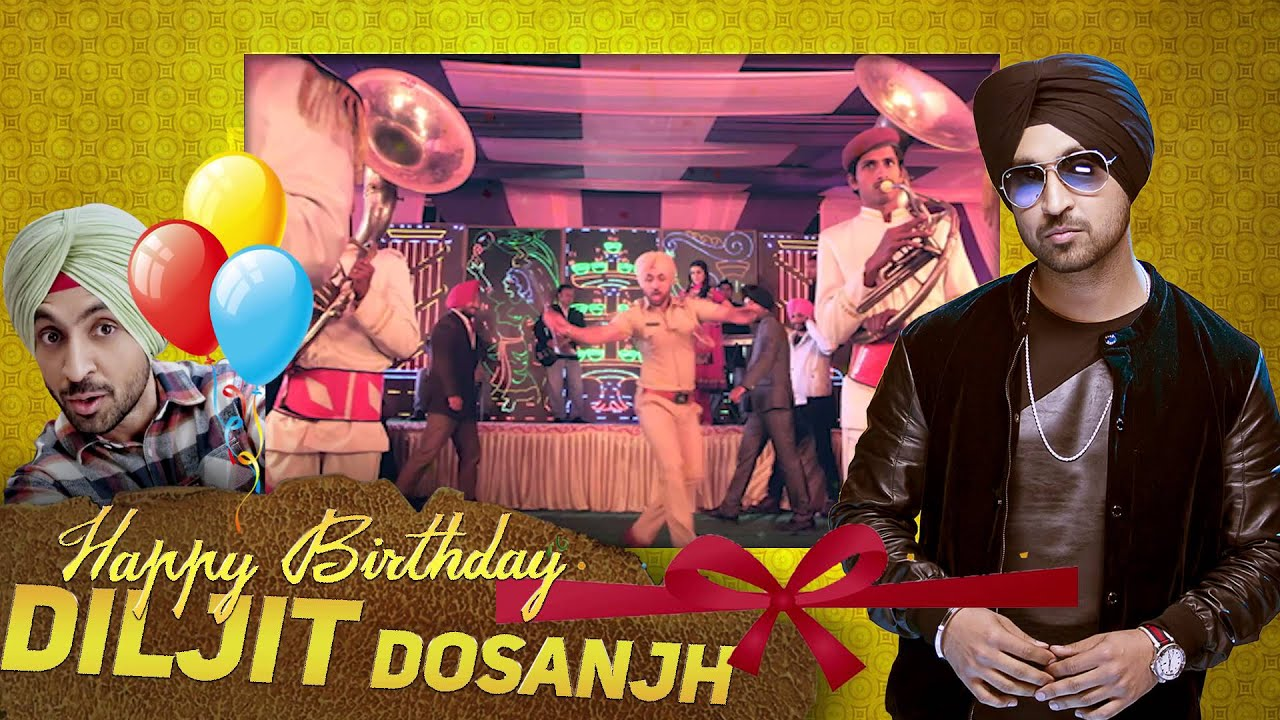 Wishing Diljit Dosanjh A Very Happy Birthday From Speed