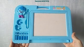 Обзор детской магнитной доски для творчества / рисования (игрушки для детей)   Laletunes