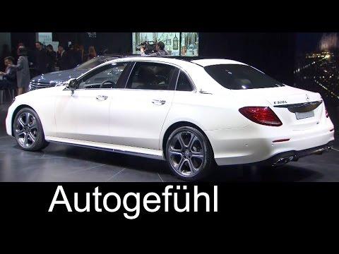 New Mercedes E-Class LWB E320 4MATIC L sedan long wheel base E-Klasse lang