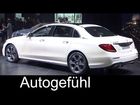 New Mercedes E-Class LWB E320 4MATIC L sedan long wheel base E-Klasse lang