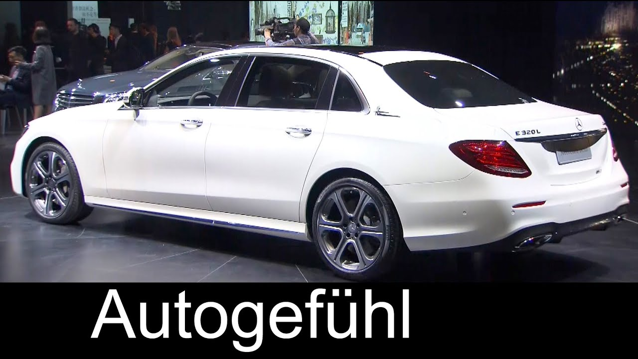 New Mercedes E-Class LWB E320 4MATIC L sedan long wheel base E ...