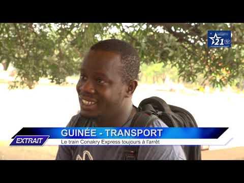 GUINÉE - TRANSPORT : le train Conakry Express toujours à l'arrêt.