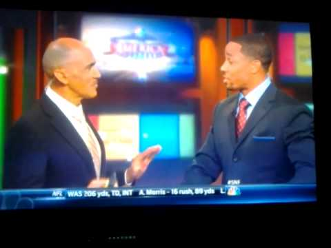 Tony Dungy Rodney Harrison hit each other