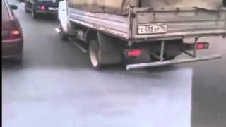 Прикол! Суровая Газель без шины(, 2014-03-22T10:25:20.000Z)
