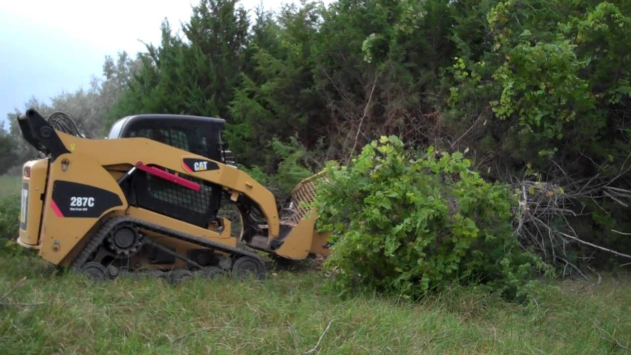 Bigiron D2 Turbo Saw Skid Steer Attachment Youtube