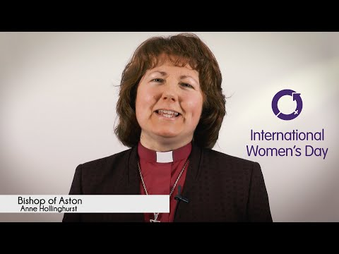 International Women's Day 2016 - Bishop of Aston Anne Hollinghurst (#IWD2016)