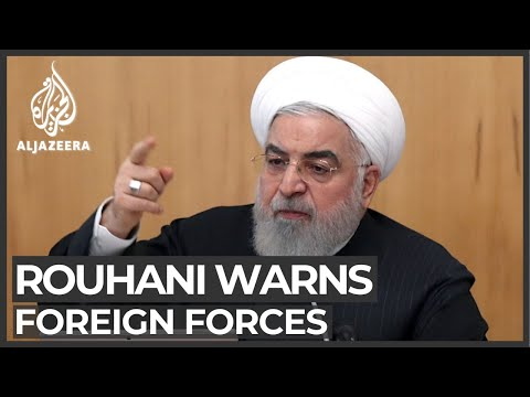 Rouhani warns foreign