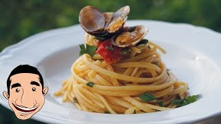 SPAGHETTI VONGOLE (Clams Pasta) | SEAFOOD PASTA with VONGOLE | Italian Food Recipes