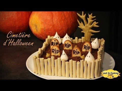 recette-de-gâteau-cimetière-d'halloween