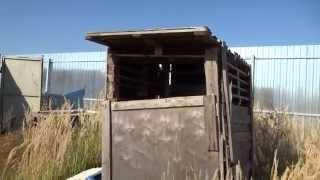 Туалет для стройки из поддонов за два часа. Бесплатный сартир  Начало строительства(Канал стройка Самостоятельная организация процесса стройки. Строительство частного дома. Строительства..., 2015-09-24T10:33:31.000Z)