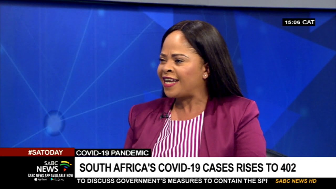 Coronavirus | South Africa's COVID-19 cases rises to 402