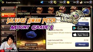 "Salvage MOUNT Grade S ""Awan Petir"" - Dragon Nest M !!! Android/iOS Game"