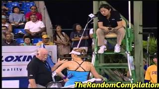 Drama In Women Tennis Compilation Part 1