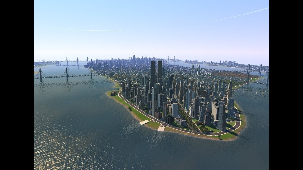 Cities Skylines New York Map