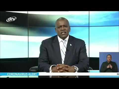 PRESIDENT MASISI ADDRESSING THE NATION ON COVID-19 PANDEMIC