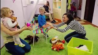Английский для малышей от 1 года. Видео отчёт с открытого урока.