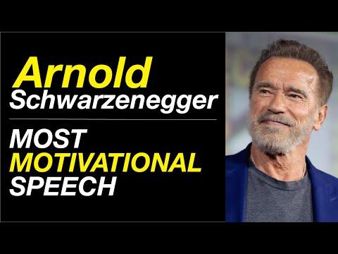 Arnold Schwarzenegger - The Most Motivational Speech that Broke The Internet