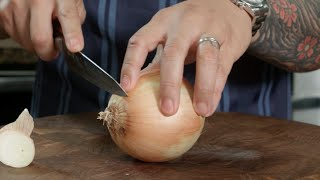 Knife Skills - Slicing Onions