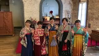 卒業旅行 函館 ハンドボール部の美女たち 素敵な袴体験で思い出作り