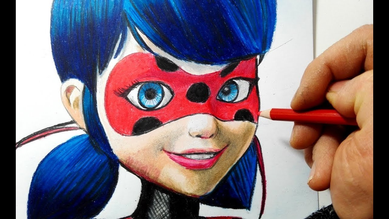 come disegnare e colorare ladybug di miraculous youtube