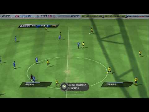 Chelsea vs Barcelona FIFA 10 DEMO