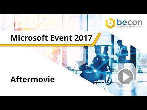 Aftermovie Microsoft Spring Event 2017 in Fulda   becon