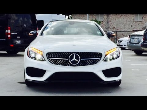 2017 Mercedes Benz C Class C300 Coupe Full Review Exhaust Start Up Short Drive