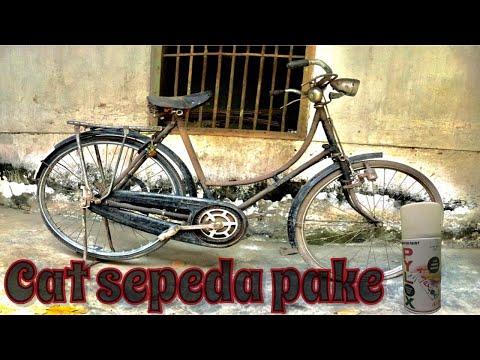 Mengecat Sepeda Ontel | Restoration Bicycle Old ~ part 1