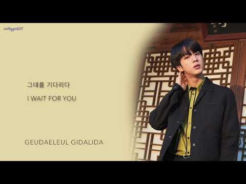 BTS Jin - 'Autumn Outside the Post Office (가을 우체국 앞에서)' (Cover) [Han|Rom|Eng lyrics]