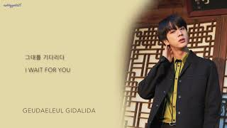 BTS Jin - 'Autumn Outside the Post Office (가을 우체국 앞에서)' (Cover) [Han|Rom|Eng lyrics]