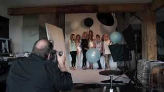 ELEVEN Party Collection photoshoot - backstage movie
